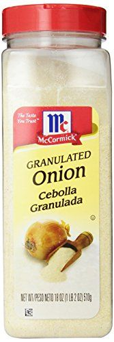 McCormick Granulated Onion 18Ounce -- You can find more details by visiting the image link.