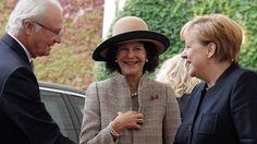 Zweeds koningspaar op staatsbezoek in Duitsland - Blauw Bloed