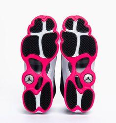 Girl's Air Jordan 13 GS Black Hyper Pink White | Sole Collector