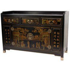 Oriental Furniture Buffet Table