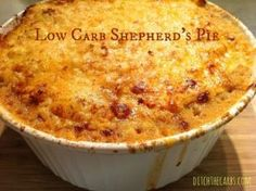 When you go low carb you really need to learn how to be a cauliflower ninja! Check out these incredible recipes. | ditchthecarbs.com