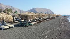 """See 362 photos from 3552 visitors about santorini island, soft black sand, and beach. """"Perivolos and Perissa beach are both soooo much better then Red. Santorini Island, Black Sand, Four Square, Dolores Park, Travel, Beautiful, Viajes, Destinations"""