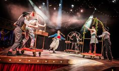 Spikemike...is breaking a leg: Alice in Wonderland - Review - Northern Stage