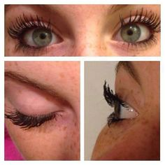 Love the side view and the front view! Can your mascara do this??? Younique's can!!!  www.youniquelywendy.com