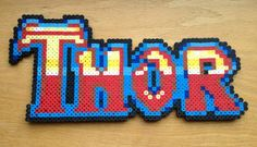 Thor Logo Perler Bead