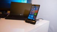 Hands-on review: Updated: HP Elite x3 -> http://www.techradar.com/1315332  Windows phones aren't in a good place with its awfully slow rollout limited app support and Microsoft's own underwhelming handsets. HP wants to turn the tide with its new business-focused Elite x3 phablet.  This massive phone promises to be your all-in-one device for your computing needs.  The 5.96-inch phablet comes well stocked with a 2.15GHz Qualcomm Snapdragon 820 processor and 4GB of DDR4 RAM. That's more than…