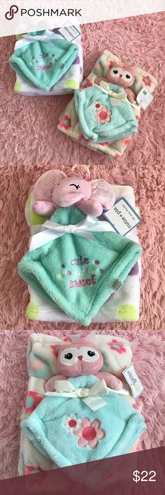 """Baby Blanket Bundle Blanket pack • Both come with a large 30""""x36"""" • and a small 15""""x15"""" • Accessories"""