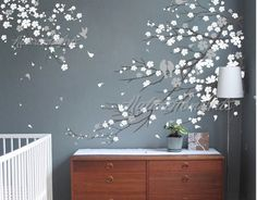 Wall Stickers – Vinyl Wall Decal wall stickers-Cherry blossom tree – a unique product by cake083 on DaWanda