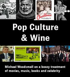 Pop culture and wine
