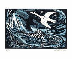 Fish | 'Sea Change' by Mark Hearld | lollopoleza.blogspot.com
