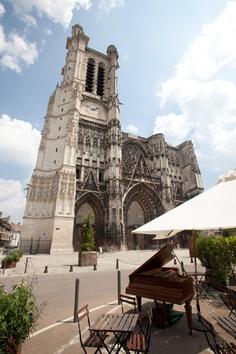 La cathédrale Saint Pierre Saint Paul à Troyes, Champagne-Ardenne
