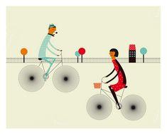 Freewheeling by Blanca Gomez