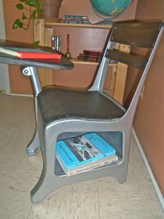 Restored Custom Vintage School Desk by FamilyIntegrated on Etsy, $75.00