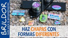 CÓMO hacer CHAPAS con FORMAS ESPECIALES SÚPER CHULAS!! Marching Bands, Sheet Metal, Shapes, How To Make