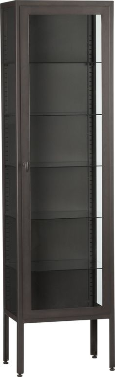 """Sterling 87"""" Tall Cabinet in Bookcases, Towers   Crate and Barrel"""