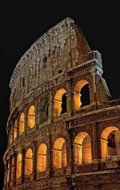 The Colosseum, Rome, Italy. #travel  Been there, it's amazing!!! Would love to go back! #italytravel