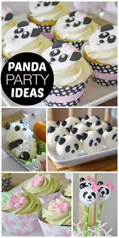 Panda party ideas