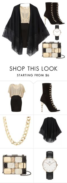"""""""work work work ⌚"""" by cigdemy ❤ liked on Polyvore featuring Balmain, Charlotte Russe, Relaxfeel, Sondra Roberts and Daniel Wellington"""