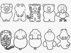 Z internetu – Sisa Stipa – Webová alba Picasa Cute Coloring Pages, Animal Coloring Pages, Abc Activities, Animal Puzzle, English Fun, Games For Toddlers, Baby Learning, Preschool Worksheets, Kids Education