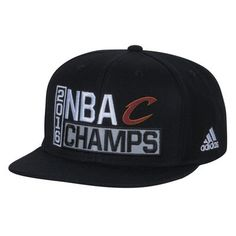 3f274aa4273 Men s Cleveland Cavaliers adidas Black 2016 NBA Finals Champions Locker  Room Snapback Adjustable Hat