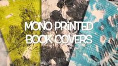 GelliArtsartist Linda Brun - Gelli Arts® Gel Printed Book Covers