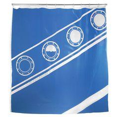 Titanic Shower Curtain  by Jan Habraken