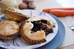 Beef & Guinness Pie. Or skip the Pie and serve over Mashed Potatoes/ Garlic Mashed Potatoes/ Pasta/ Bread or Rice