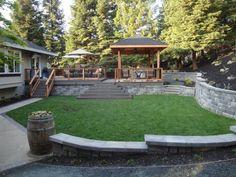 New Backyard, Deck & Outdoor Kitchen