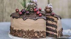 DOBRÉ JEDLO: Sladká výzva január Biscotti Cookies, Czech Recipes, Sponge Cake Recipes, Sweet Desserts, Toffee, Food For Thought, Nutella, Chocolate Cake, Cake Decorating