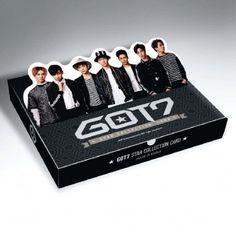GOT7 Star Collection Card Set http://kpopmerchandiseworld.com/product/got7-star-collection-card-set http://kpopmerchandiseworld.com/artist/got7-merchandise