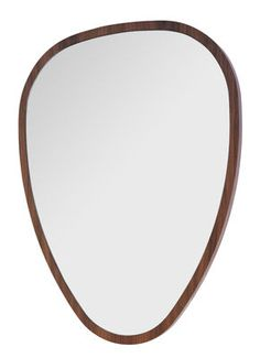 Ovo Mirror - Medium - 57 x 75 cm Walnut by Sarah Lavoine - Design furniture and decoration with Made in Design