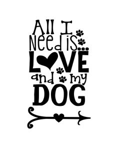 I Love Dogs, Puppy Love, Cute Dogs, Animal Quotes, Dog Quotes, Dog Lover Gifts, Dog Lovers, Paw Print Art, Dog Stencil