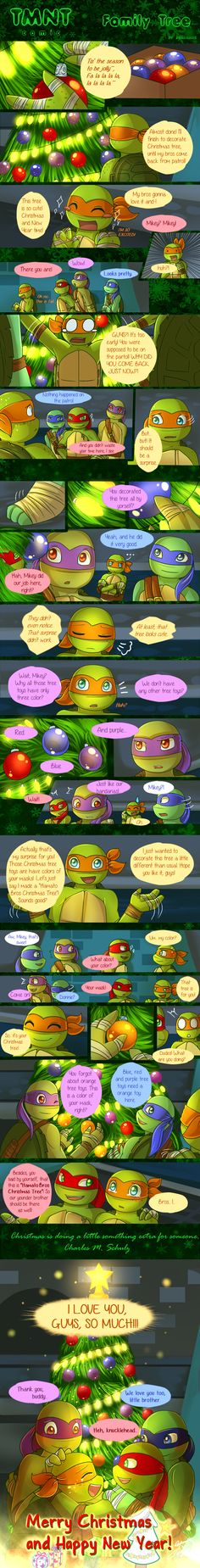 .: TMNT comic - Family Tree :. by AquaGame.deviantart.com on @DeviantArt
