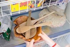 Enlevez facilement les bactéries de vos spatules en bois