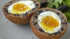 How to make scotch eggs recipe - BBC Food Food Network Uk, Food Network Recipes, Uk Recipes, Vegetarian Recipes, British Recipes, Vegetarian Protein, Sausage Recipes, Easy Recipes, Scotch Eggs Recipe