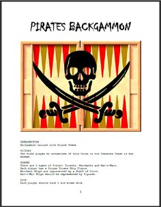 Pirates Backgammon