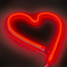 Wall Lamp Love Neon Red