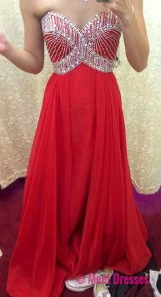 Red Prom Dresses,Beading Evening Dress,A line Prom Dress,Simple Prom Dresses,Sparkle Prom Gown,Sexy Prom Dress,Sparkle Evening Gowns,Glitter Party Dress for Teens PD20184794