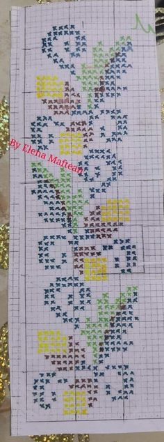 Butterfly Cross Stitch, Cross Stitch Flowers, Bordados E Cia, Cross Stitch Collection, Plastic Canvas Christmas, Counted Cross Stitch Patterns, Cross Stitching, Needlework, Bullet Journal