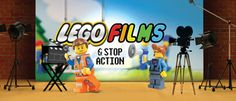 LEGO Films and Stop Action     Ages 8 to 11  Make your LEGOS come to life!  Bring in your favorite action figures or LEGOs and create a short film with your classmates.  Recreate a scene from Star Wars, design a world of your own, and more – bring your dreams to the screen.  Student-created films will be available on a password protected Web site to share with friend and family.  Students will need to bring in LEGOs or action figures from home