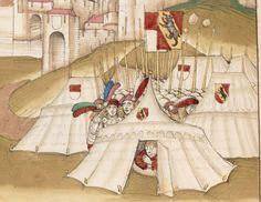 Diebold Schilling, Spiezer Chronik Bern · 1484/85 Mss.h.h.I.16 Folio 480