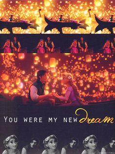"DISNEY PRINCESS CHALLENGE #21: Favorite Line - ""You were my new dream."" - Flynn Rider"