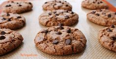 Cinnamon Hazelnut Chocolate Chip Cookies that are to die for! Rich roasted hazelnut butter and cinnamon is a flavor bomb in your mouth. Entire recipe just 8 ingredients, no butter or oil!