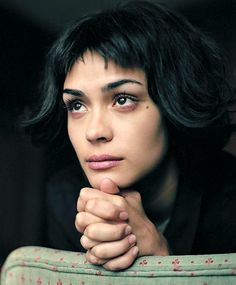 I find Shannyn Sossamon so beautiful, and funnily from certain angles her eyes remind me of my mom :)