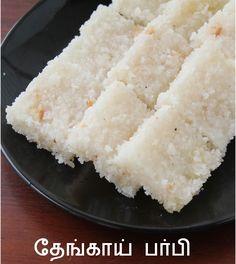 Jaya's recipes: Coconut Burfi