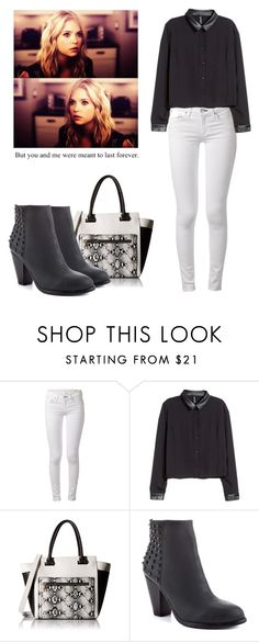 """Hanna Marin - pll / pretty little liars"" by shadyannon ❤ liked on Polyvore featuring rag & bone, H&M, ALDO and Steve Madden"
