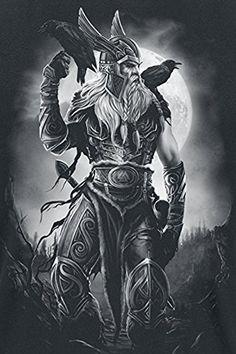Toxic Angel Odin T-Shirt schwarz XXL