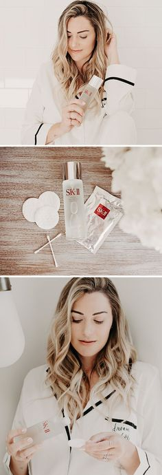 Caitlin Lindquist of the beauty blog Dash of Darling shares how to change your skin's destinay and get glowing skin with SK-II Facial Treatment Essence. *  #acnescarsremoval