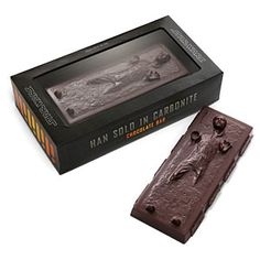Han Solo in Carbonite chocolate bar pretty much covers it.