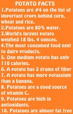 August 19 is National #Potato Day!